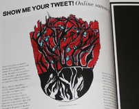 """Show Me Your Tweet"" for XOXO The Mag 9/2010"