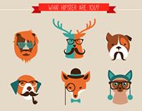 22 Hipster Animals
