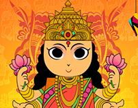 Diwali @ Goddess Laxmi