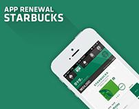 Starbucks App Renewal