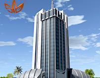 NTC Tower in Khartoum