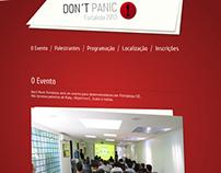 Don´t Panic - Fortaleza 2013