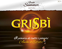 Grisbì Summer Edition minisite