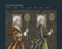 Igor & Marina — Website