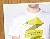 Social media week 2013 t-shirt