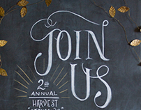 Harvest Gathering Invite