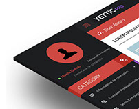 Metro Style Dashboard Design