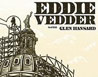 Gig Poster for Eddie Vedder., PEARL JAM