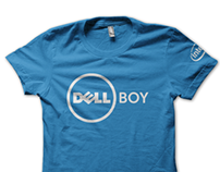 Dell - DellBOY & MODell Retail T-Shirt Design