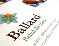BRANDING - Ballard Rehabilitation logo and rebrand