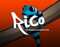 Rico, The Spanish Speaking Frog