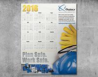 Safety Calendar Poster