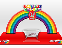 Skittles - Rainbow Bath Tub