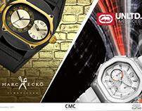 Catálogo de Relógios - Ecko Unltd. / Marc Ecko
