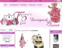 Tiaras & Pink / Designed 2B Sweet - childrens parties