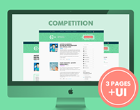 Redesign uCoz blog (competition)
