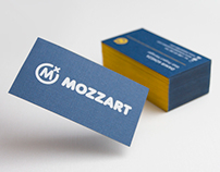 Mozzart business cards concept