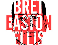 Bret Easton Ellis (screenprint).