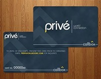 Prive Card Designs