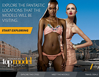 Campaign Tablet App : Africa's Next Top Model