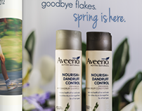 Aveeno Hair Care Print Ad