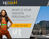 Campaign Facebook : Africa's Next Top Model