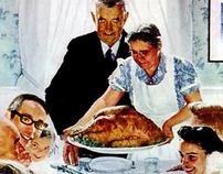 Custom Thanksgiving e-card