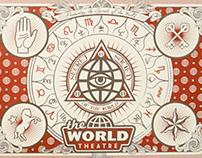 """World Theatre """"Secrets of the World"""" Invite"""