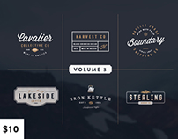 Vintage Logo Kit:  Volume Three