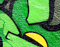 Selected graffiti works 2004–2008