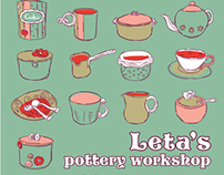 Leta's Pottery Workshop - Εργαστήρι Χειροπ. Κεραμικής