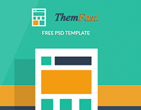 Freebie - ThemFast - Free PSD Template