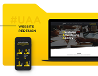 Ukrainian Advertising Agency | Web Site UI