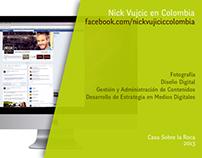 Nick Vujicic en Colombia