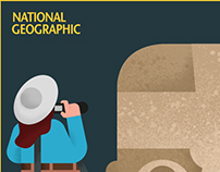 Proposal posters for National Geographic