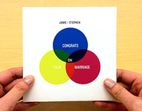 CMYK/RGB Wedding Card