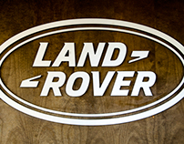 Land Rover - off road test drive