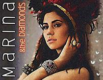 Fictional CD cover for Marina & the Diamonds