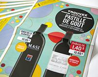 "SAQ - ""Pastille de goût"" Campaign"