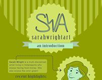 Sarah Wright Infographic Resume