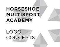 Horseshoe Multisport Academy: Logo Concepts