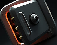 SAFE BOX - ICON - 3D