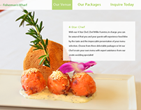 Holiday Inn Wedding Landing Page