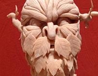 Treeman - Polymer Clay (Super Sculpey)