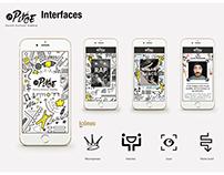 LA PLACE - Projet Professionnel BTS Design Graphique