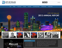 City of Dallas Online Annual Report