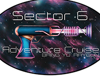 Sector 6 Sticker