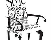 Stickley Typography Ad