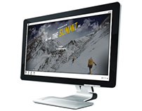 The Summit || Responsive Coming Soon Page