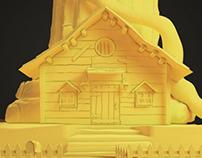 Concept Cartoon House